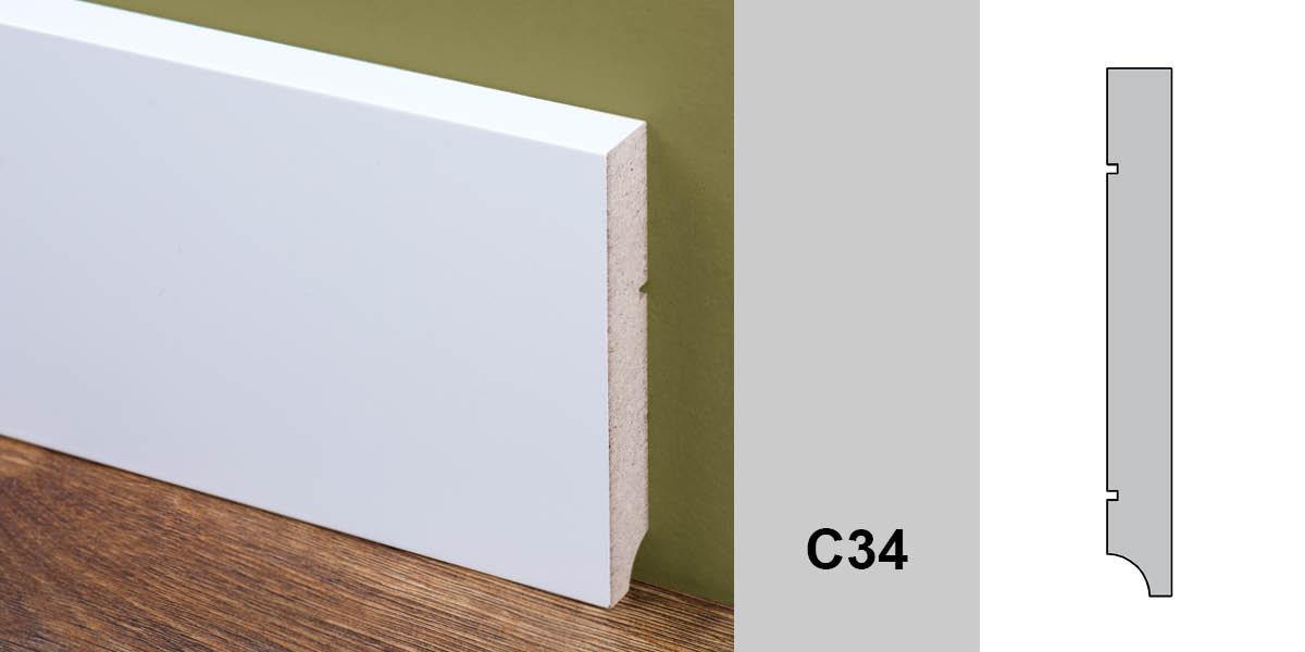 listwa przypodłogowa C34 MAGADOR